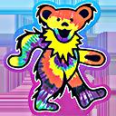 Grateful Dead dancing bear